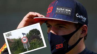 Max Verstappen - w Zandvoort zmieniają ograniczenia prędkości na 33 km/h
