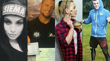 Ewelina, Trybson, Mała Ania i Alan z Warsaw Shore