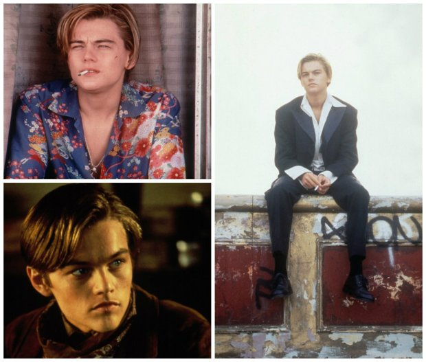 Młody Leonardo DiCaprio
