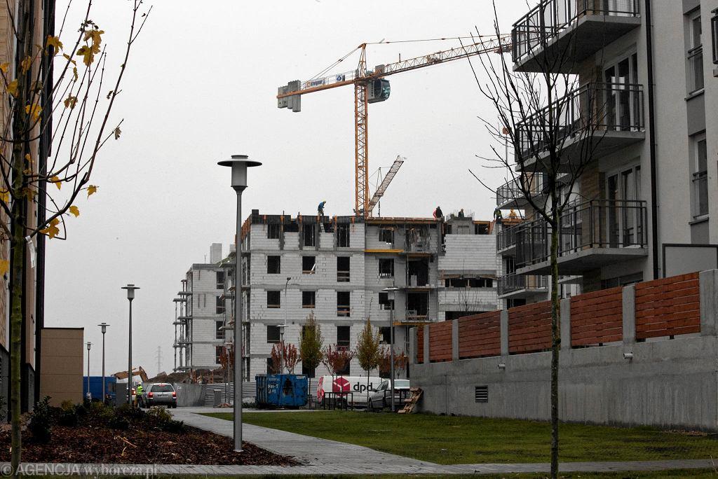 Budowa mieszkań na Jagodnie. Prawie połowa nowych lokali kupowanych jest z myślą o późniejszym wynajmie