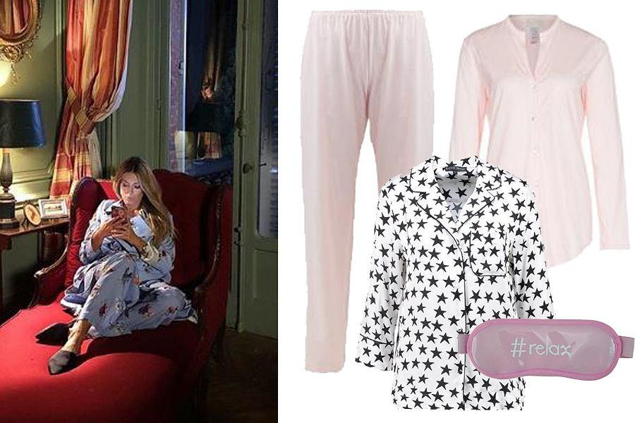 Kolaż, piżama dwuczęściowa/Materiały partnera