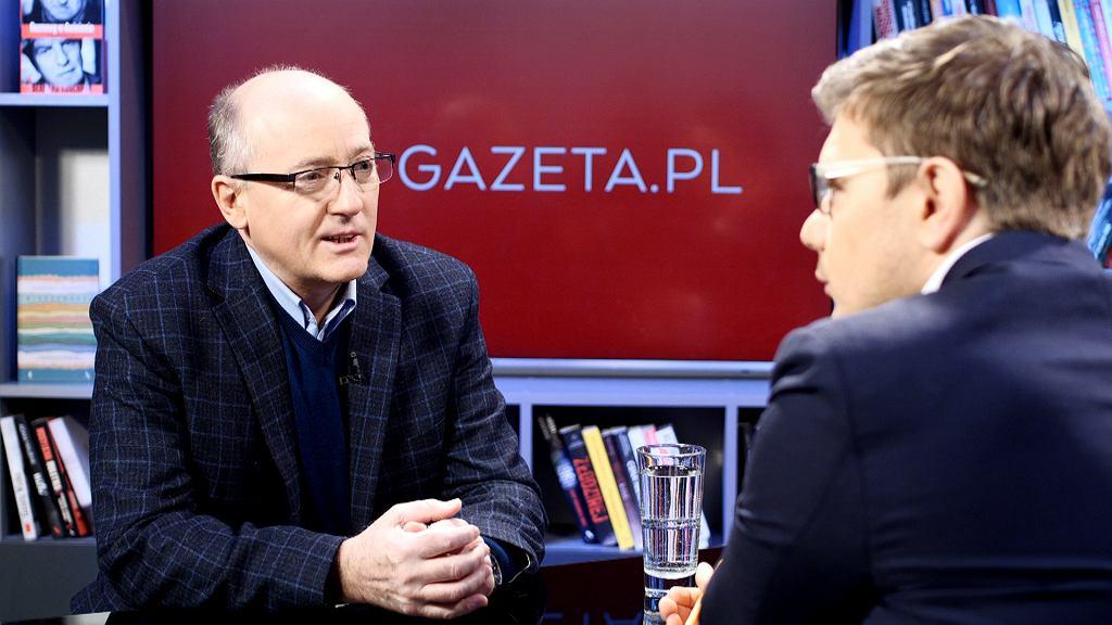 Krzysztof Luft w Porannej rozmowie Gazeta.pl