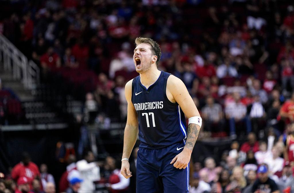 Luka Doncić poprowadził Dallas Mavericks do zwycięstwa z Houston Rockets