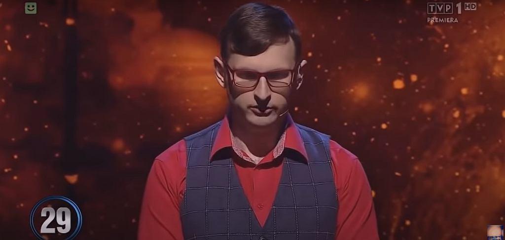 Tomasz Orzechowski w 'Jeden z dziesięciu'