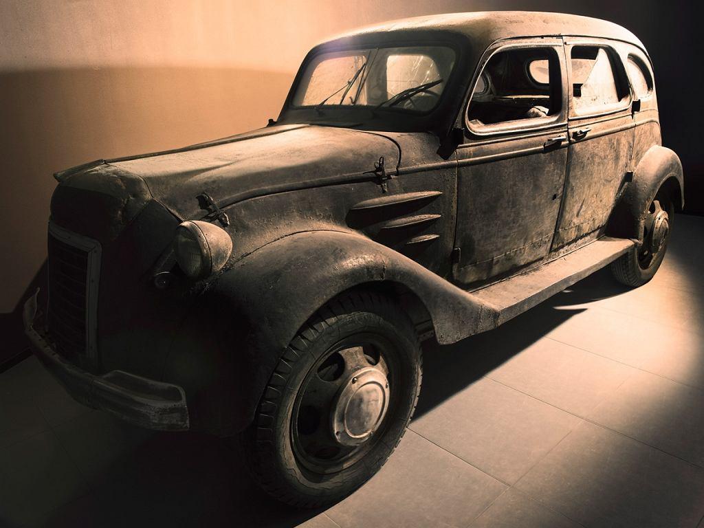 Toyoda AA - eksponat holenderskiego Louwman Museum w Hadze