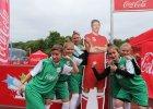 Robert Lewandowski w Gdańsku na finałach Coca-Cola Cup