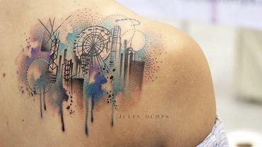 Tatuaże dla wielbicieli podróży