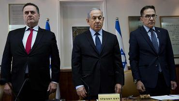 Israel Katz, Beniamin Netanjahu i Tzachi Braverman