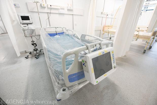 Szpital tymczasowy przy ul. Rakietowej we Wrocławiu