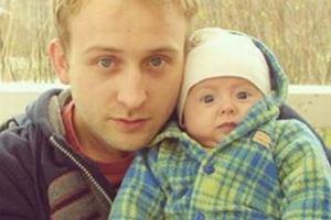 Borys Szyc z córką Sonią
