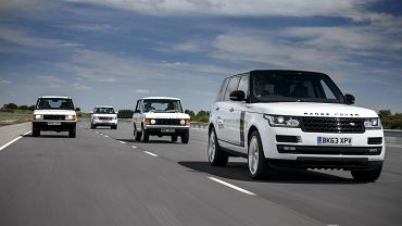 Range Rover 45 urodziny
