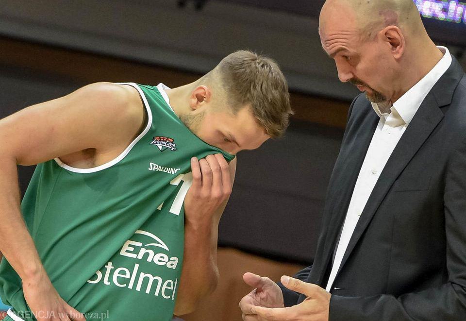 Marcel Ponitka i Żan Tabak (Stelmet Enea BC Zielona Góra)