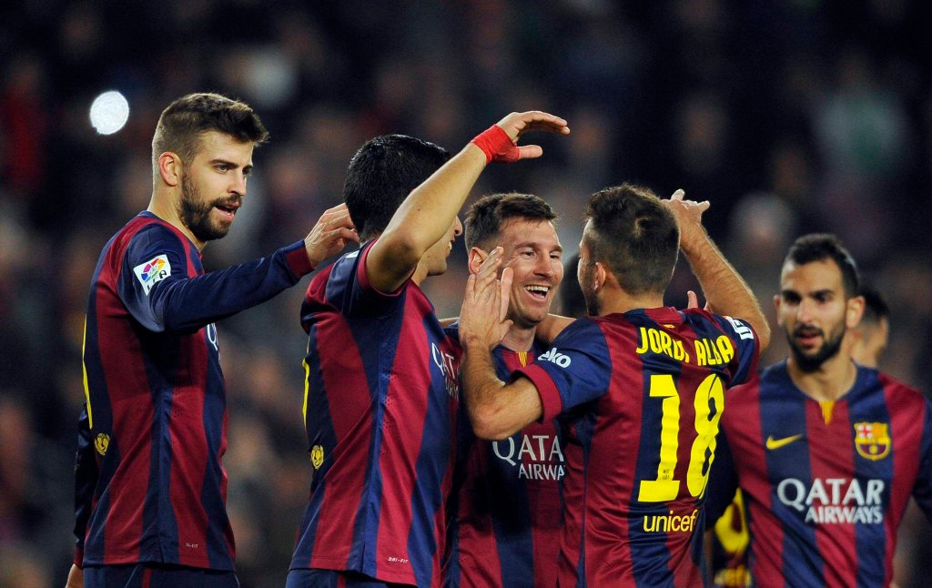 Barcelona - Cordoba 5:0