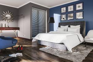 Ściana za łóżkiem - pomysły na udekorowanie ściany w sypialni