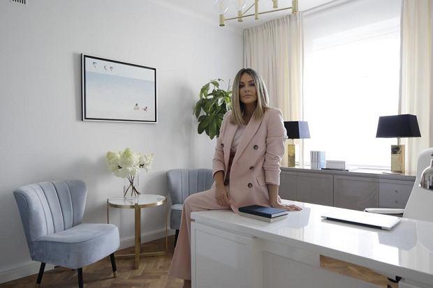 Małgorzata Rozenek w fundacji swojego imienia