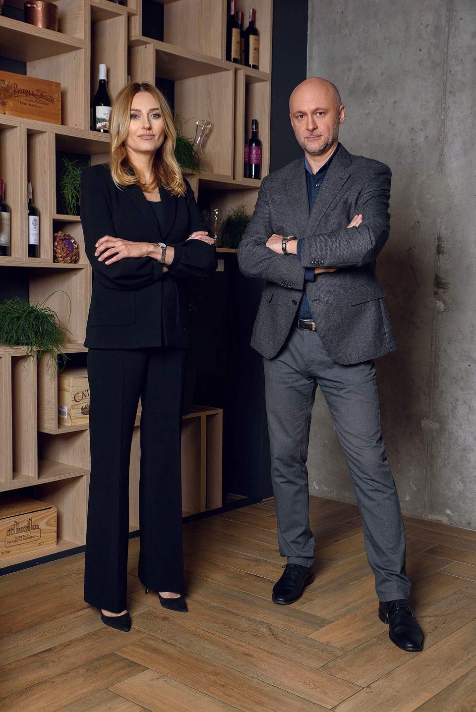 Właściciele firmy Dynaxo. Od lewej; Małgorzata Brzózka-Nowak oraz Paweł Nowak