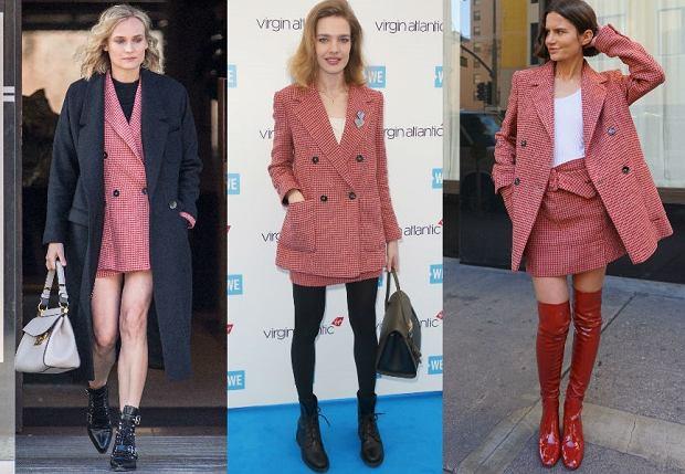 Diane Kruger, Natalia Vodianova i Marta Cygan w komplecie z nowej kolekcji Mango