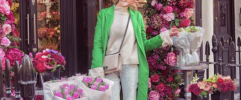 Anna Wendzikowska w zielonym płaszczu to nasza #stylizacjatygodnia. Znaleźliśmy podobne, ale tańsze ubrania!