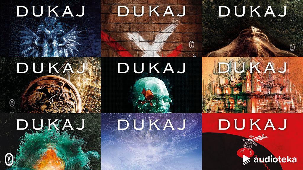 Jacek Dukaj - okładki