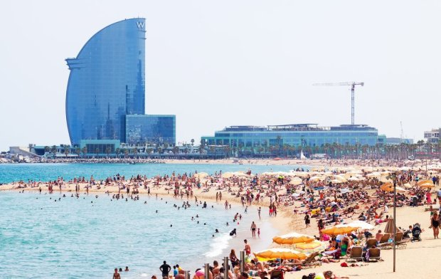 Plaża Barceloneta, Barcelona, Hiszpania / fot. Shutterstock