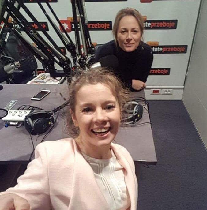 Odeta Moro i Anna Powierza w programie 'Morowym Weekendzie'
