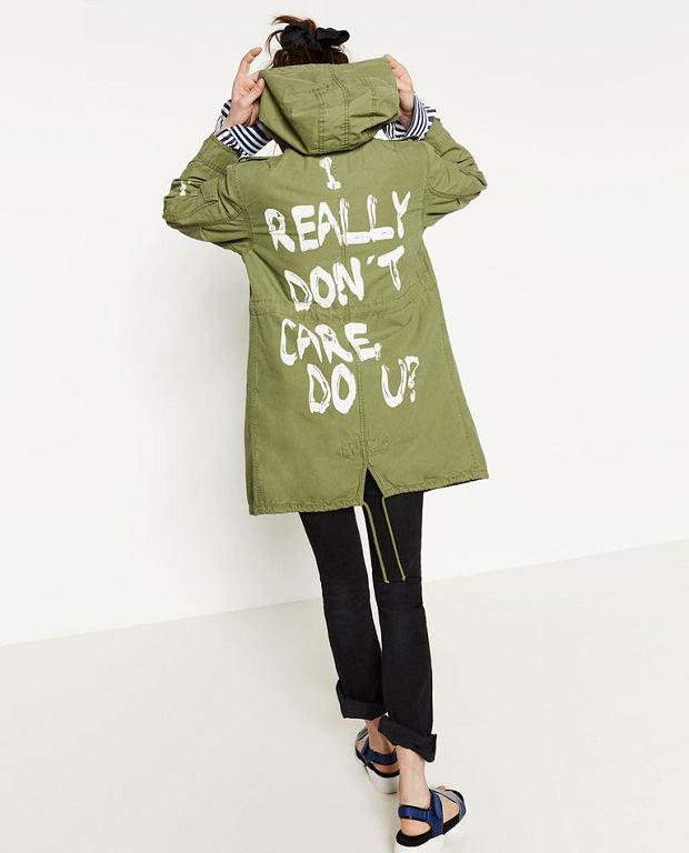 Kurtka z napisem 'I really don't care, do u?', w której Melania Trump pojawiła się na spotkaniu z dziećmi imigrantów