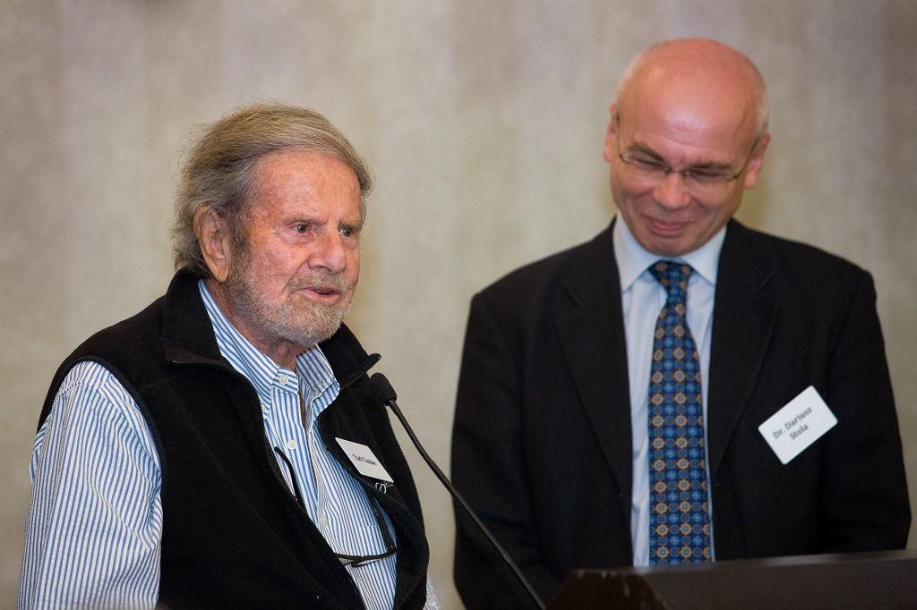 Tadeusz Taube, Dariusz Stola, 2018 r.