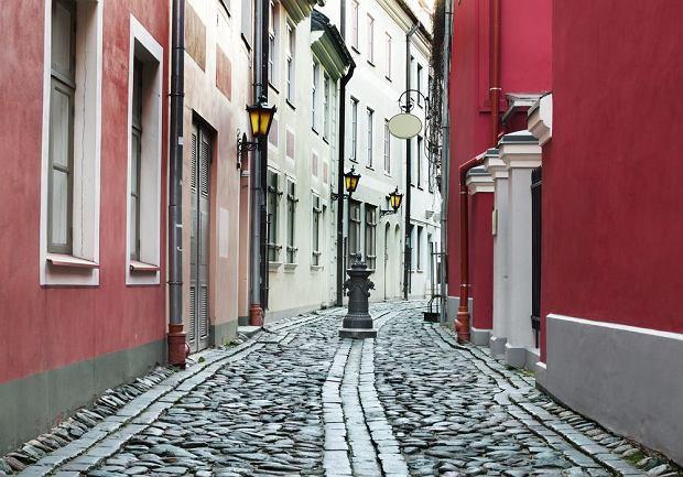 Łotwa Ryga - Stare Miasto w Rydze / shutterstock