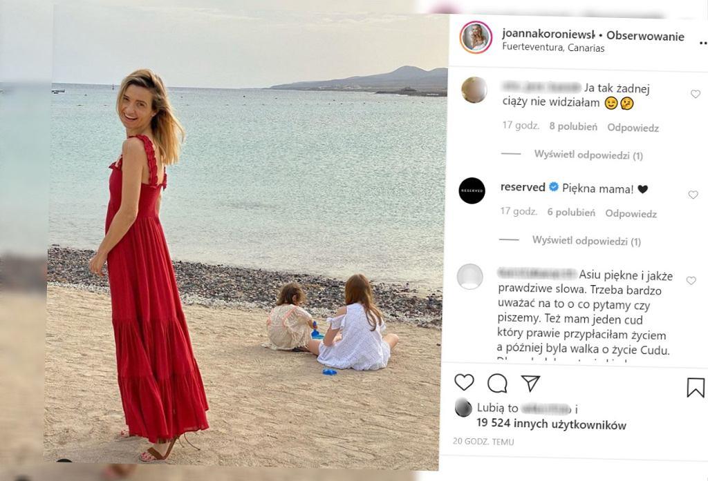 Joanna Koroniewska jest w kolejnej ciąży? Dementuje plotki