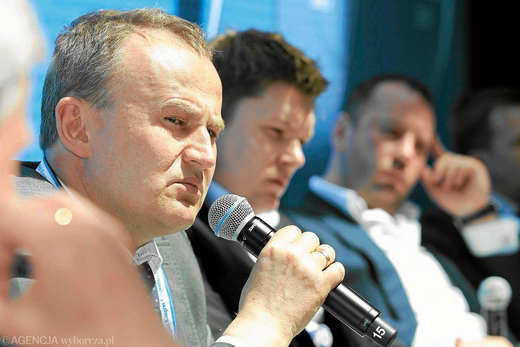 Dariusz Smagorowicz, prezes niebieskich