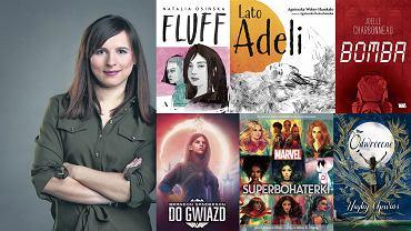 Justyna Suchecka poleca nowości książkowe dla młodych dorosłych
