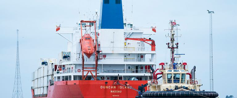 Dania. 100 kg kokainy na pokładzie statku. Wśród zatrzymanych są Polacy