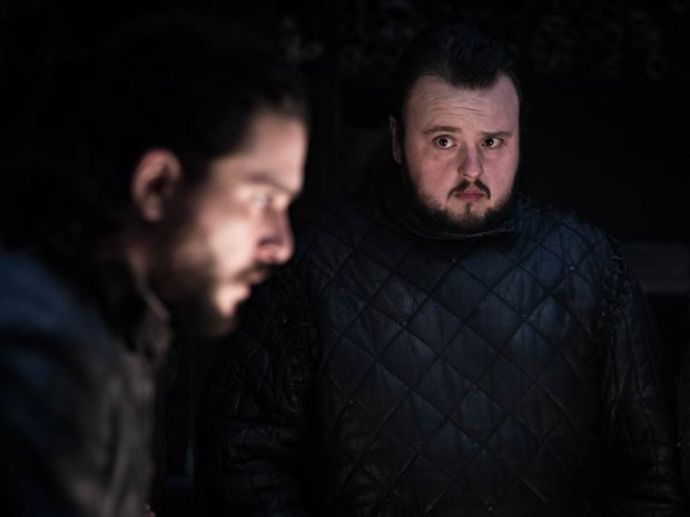 Gra o tron - sezon 8, na zdjęciu Kit Harington i John Bradley-West