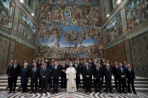 Spotkanie papieża z unijnymi przywódcami w Watykanie