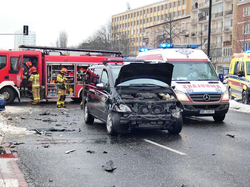 Wypadek z udziałem pojazdu SOP