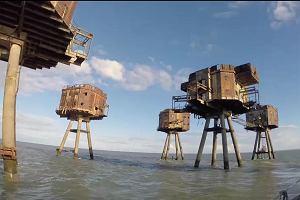 Wodne forty-widma. Kiedyś broniły Anglię przed Hitlerem, dzisiaj sieją postrach na morzu [ZDJĘCIA]