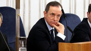 Tomasza Grodzki na posiedzeniu senatu