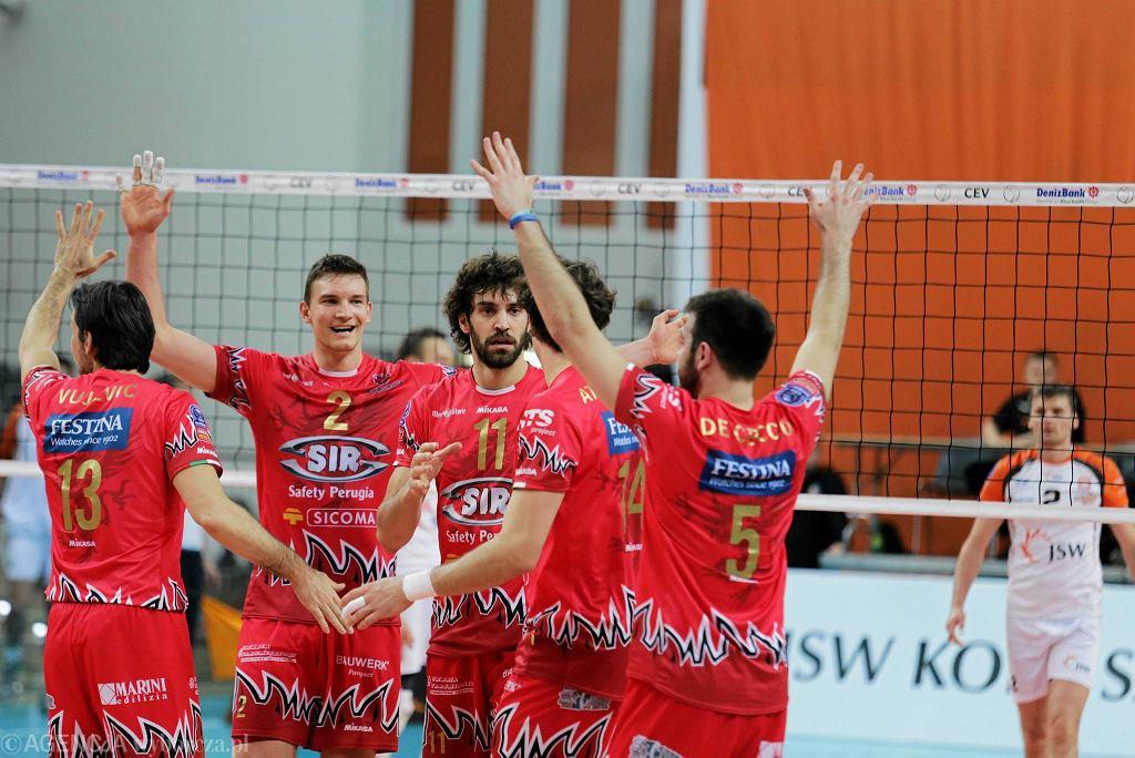Sir Safety Perugia ograł Jastrzębski Węgiel w dwumeczu play off Ligi Mistrzów