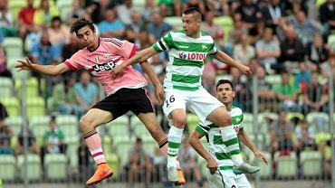 Lechia - Juventus 1:2. Ariel Borysiuk