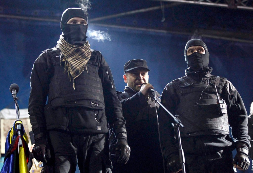 Dmytro Jarosz, lider nacjonalistycznego Prawego Sektora