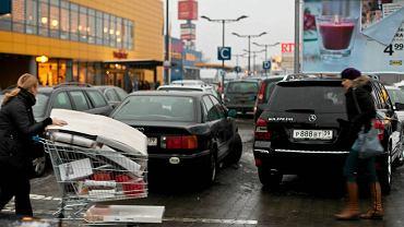Parking w Parku Handlowym Matarnia w Gdańsku