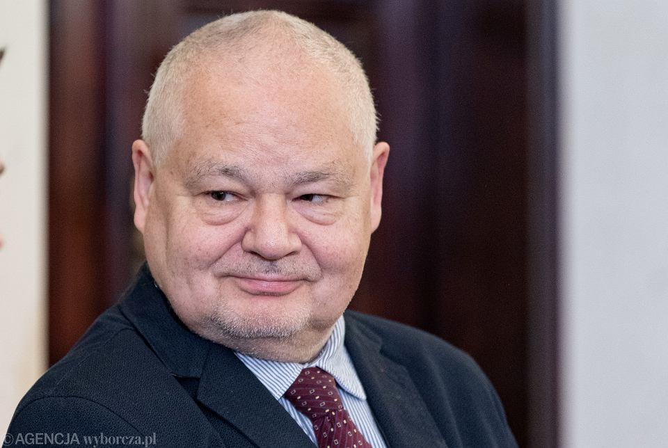 24.01.2020 Warszawa , Pałac Prezydencki . Prezes NBP Adam Glapiński