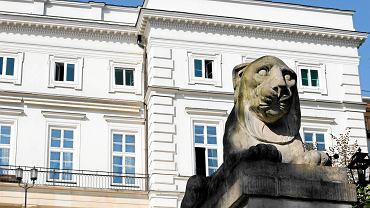 Pałac Prezydencki od strony ogrodu