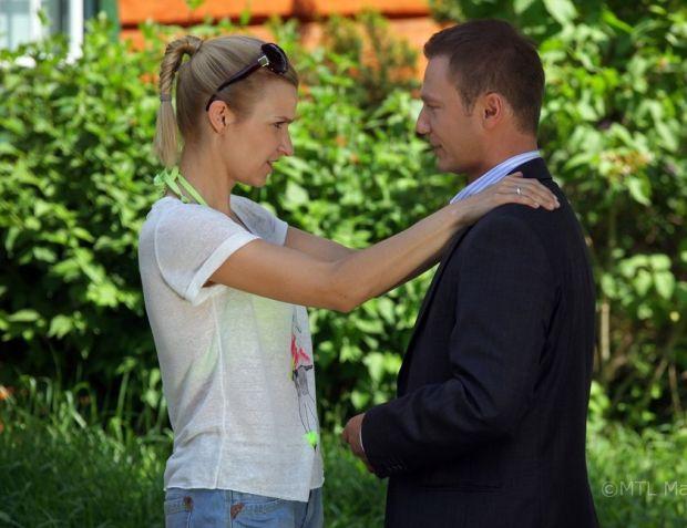 Joanna Koroniewska, Dominika Ostałowska, Krystian Wieczorek, m jak miłość