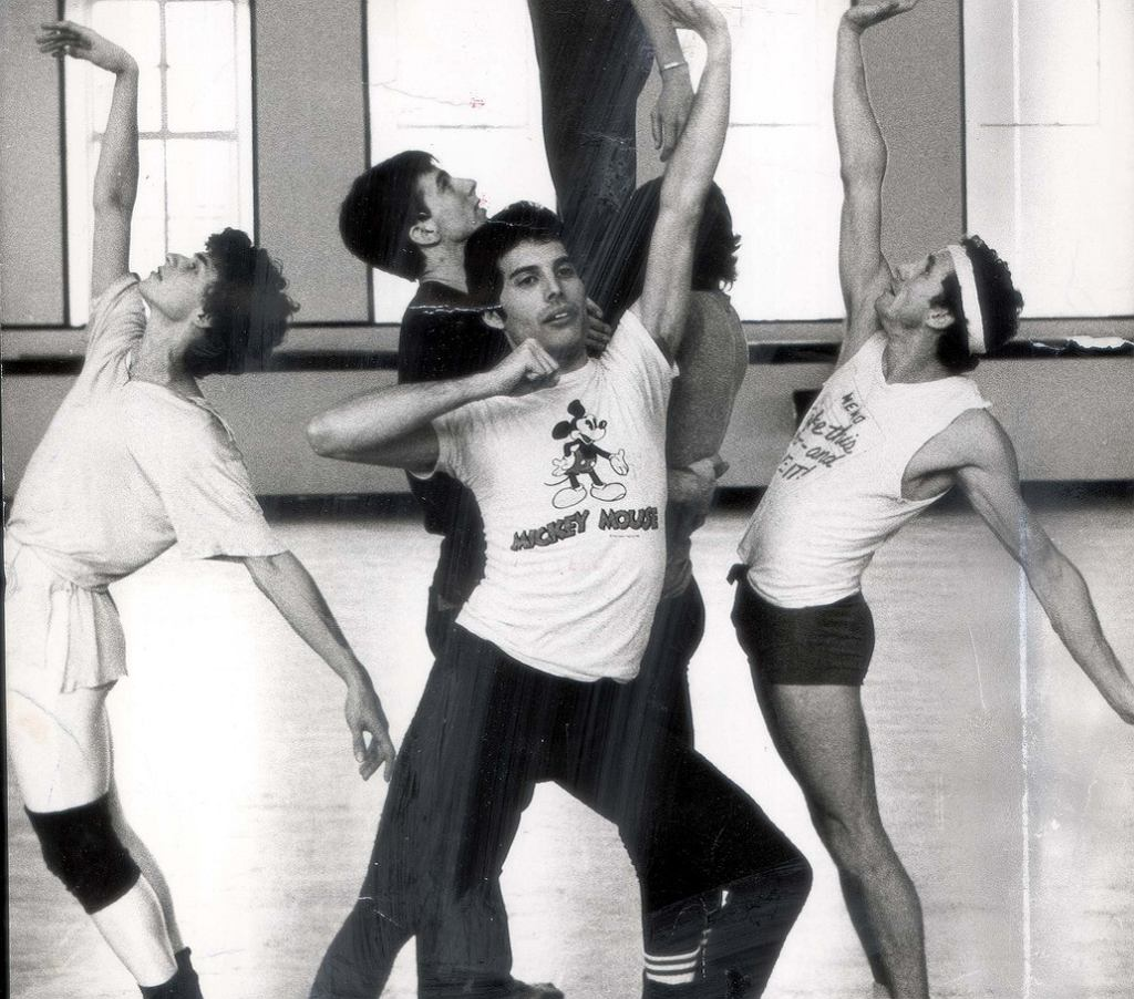 Freddie Mercury z Królewskim Baletem