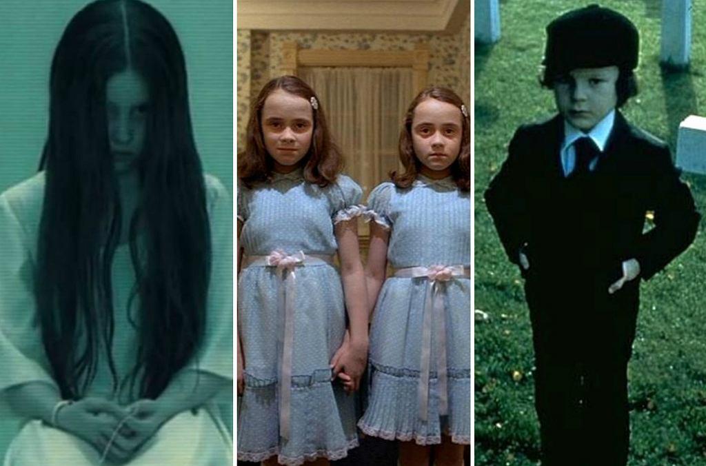 Te dzieci zaczynały karierę niestandardowo, bo od pojawienia się w horrorach. Na pewno dobrze pamiętacie mroczną Samarę z serii