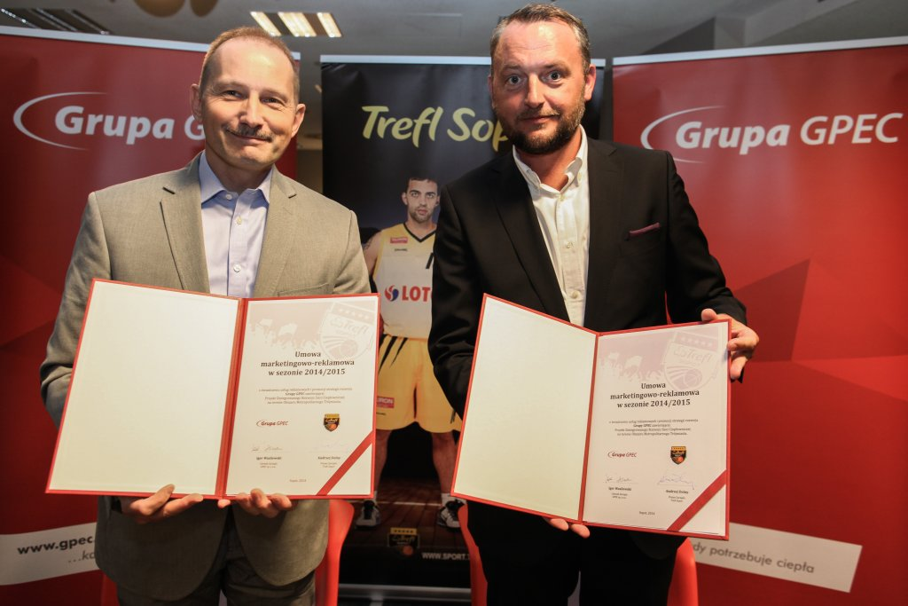 PLK. Trefl Sopot. Podpisanie umowy z Grupą GPEC