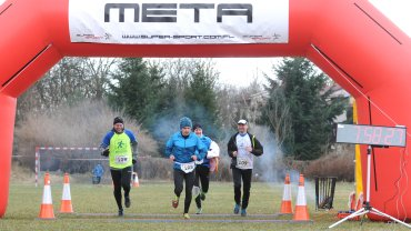 Na mecie I Zielonogórskiego Ultramaratonu