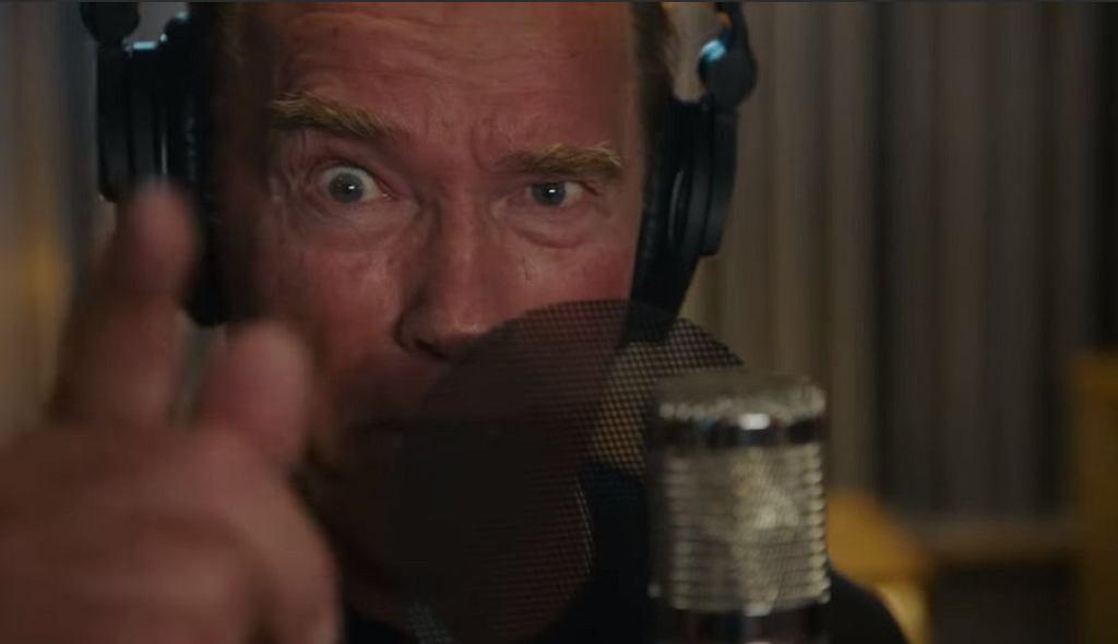Arnold Schwarzenegger w teledysku