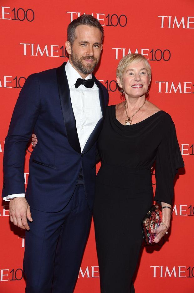 Ryan Reynolds z matką Tammy Reynolds